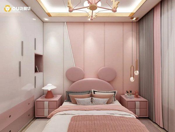 奥华粉色房间设计