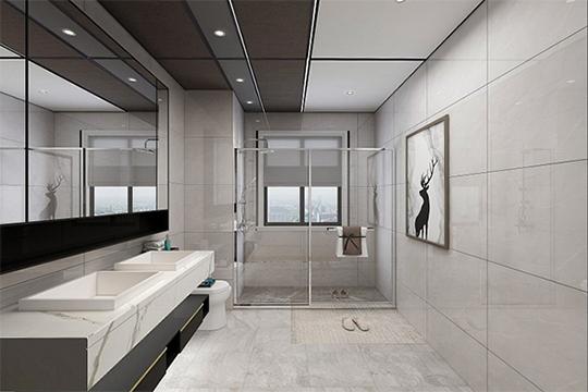 卫浴装的好快乐少不了 鼎美无胶大板轻奢而优雅