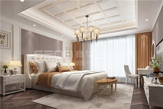 美女老板选择赛华墙板改造卧室