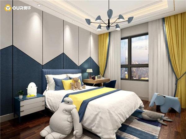 集成墙面色彩可以将酷时尚的家居生活展现淋漓尽致