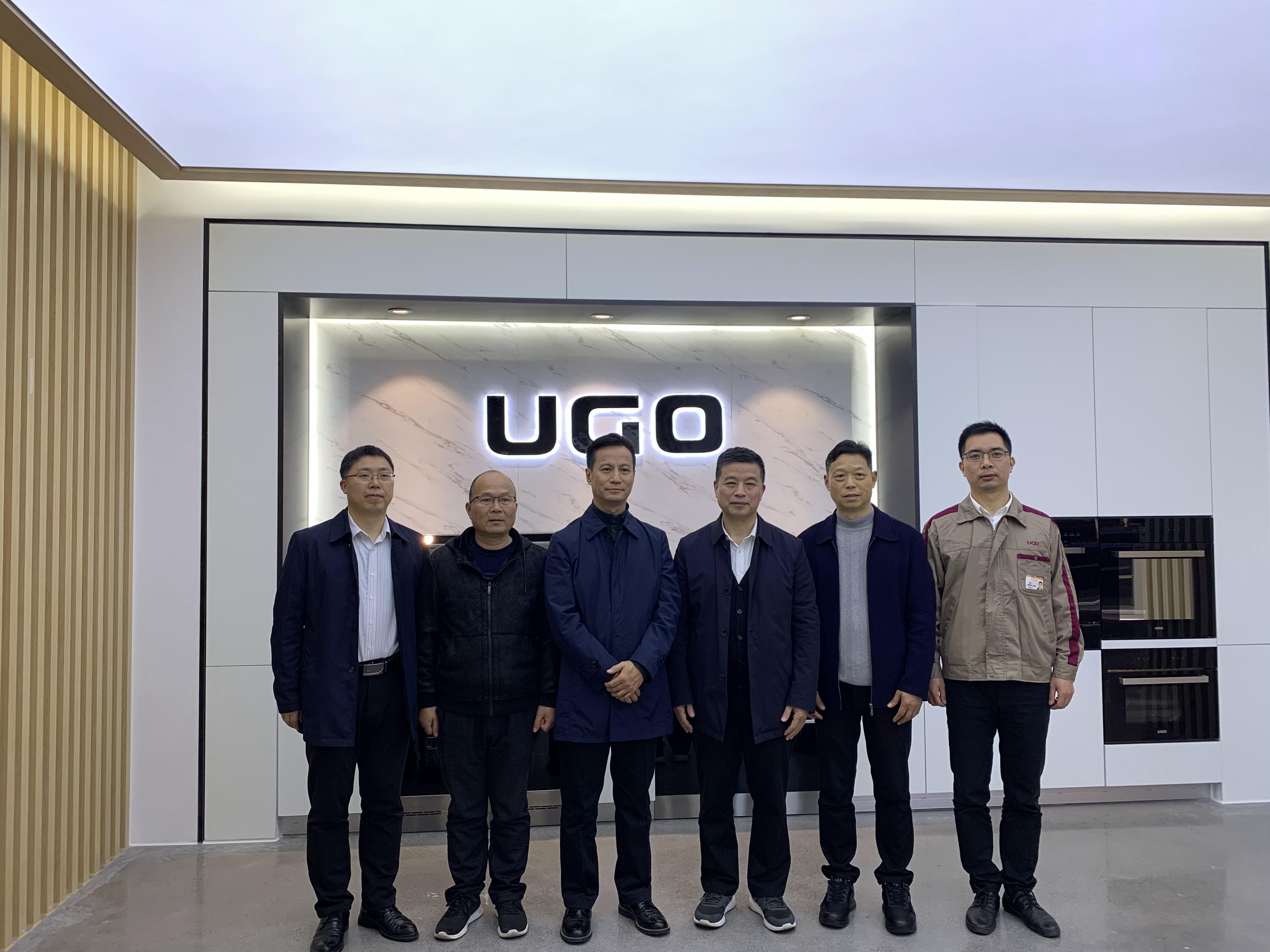 中国五金制品协会副理事长孟凡波一行莅临优格公司走访调研
