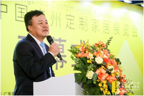 广东省定制家居协会会长、索菲亚副总裁张挺
