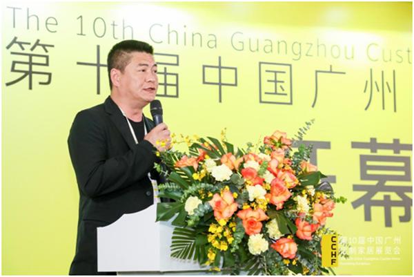 广东衣柜行业协会会长、科凡董事长林涛