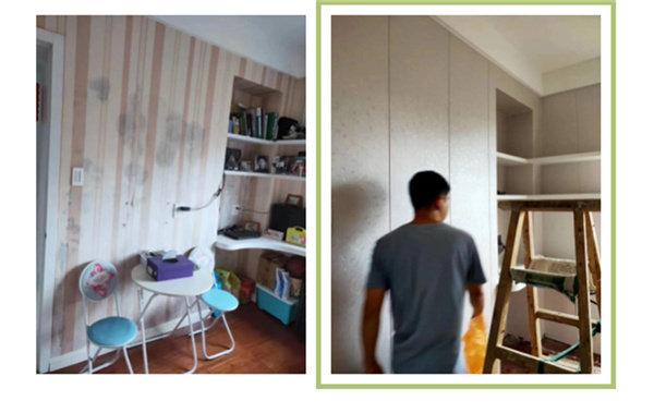 海创竹木美学墙板对原墙面的施工要求不会太高