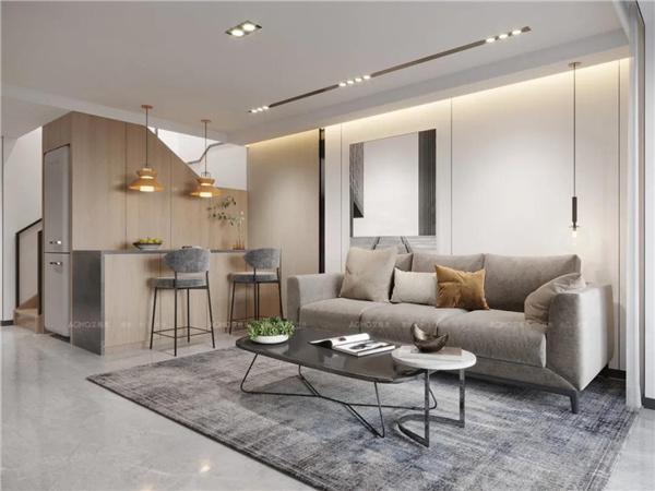 派格森全景×现代风LOFT单身公寓,小户型也不输质感!